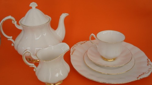Paragon fine bone china part tea service