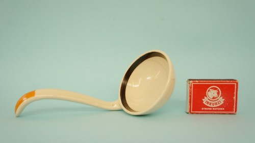 Royal Doulton Marquis ladle with matchbox