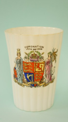 Foley China coronation beaker