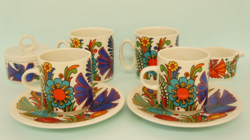 Villeroy & Boch 'Acapulco' part tea & coffee set